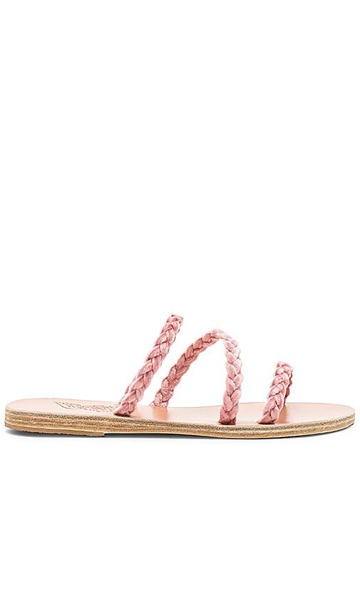 Ancient Greek Sandals Alkimini Sandal in Pink