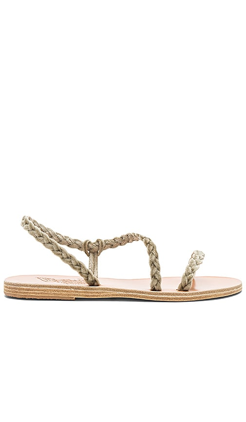 Ancient Greek Sandals Anaxo Sandal in Gray