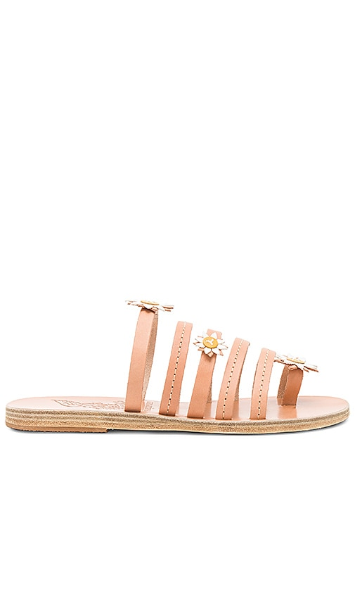 Ancient Greek Sandals x Fabrizio Viti Victoria Sandal in Tan