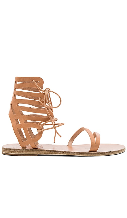 Ancient Greek Sandals Dione Sandal in Beige