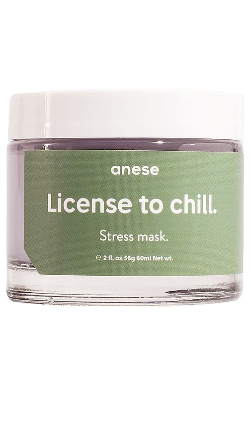 License to Chill The Stress Mask