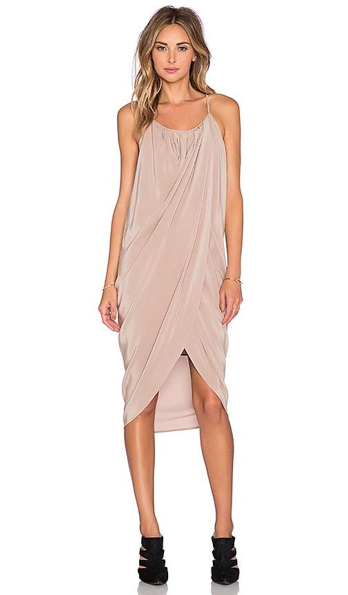 ANINE BING Wrap Dress in Blush