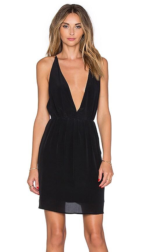 Deep V Mini Dress