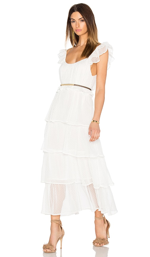 ANINE BING Tulle Dress in White