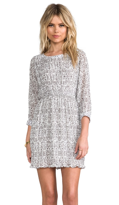 Dress Revolve Anine In Floral Print Bing Grey 8tqBUfw