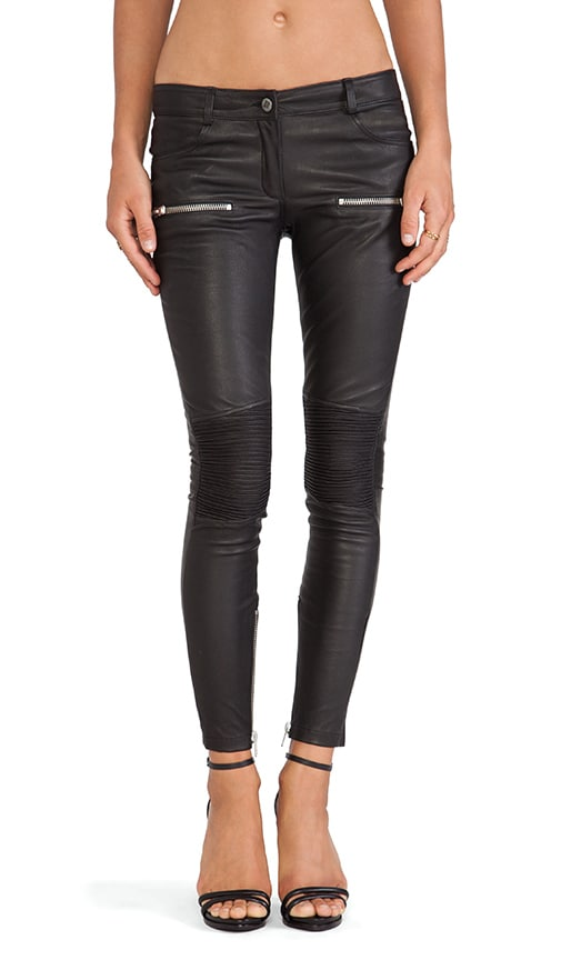 Moto Leather Pant