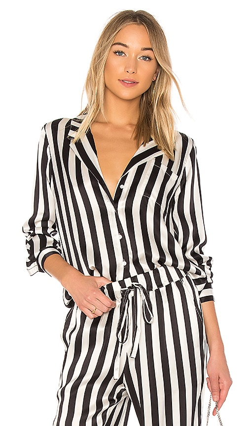 ffbe636fe8714 Striped Pajama Shirt. Striped Pajama Shirt. ANINE BING