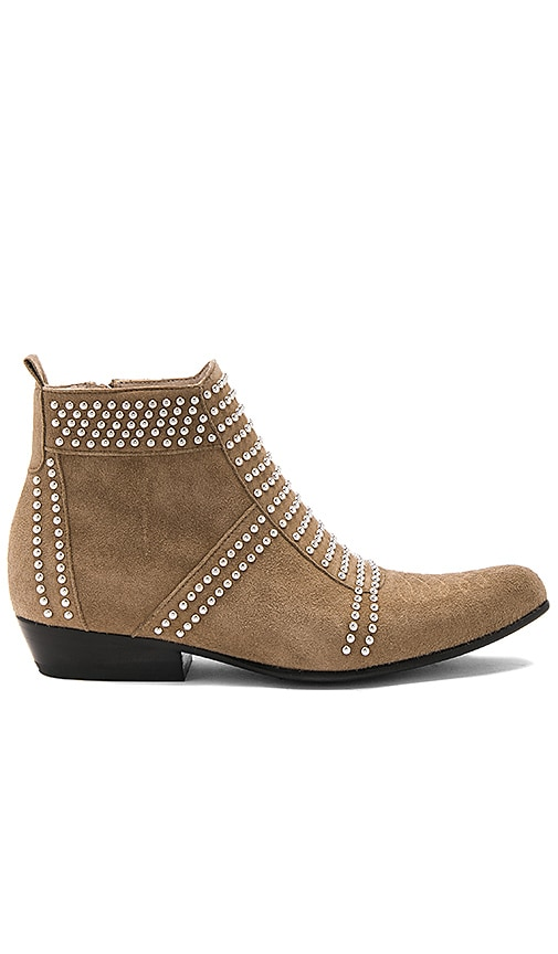 ANINE BING Charlie Bootie in Taupe