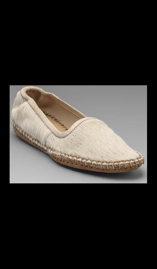 Moccasin with Calf Fur