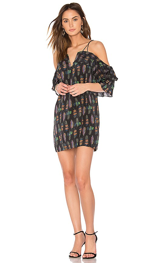 ANIMALE Shift Mini Dress in Blue