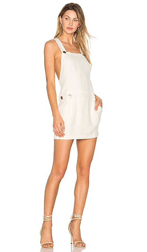 ANIMALE Gardner Dress in Ivory