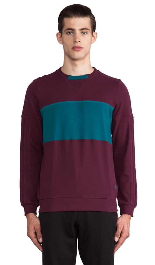 by Opening Ceremony Color Blocked Crewneck