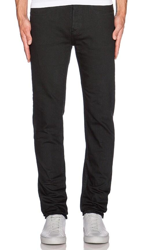 A.P.C. Petit Standard Jean in Noir Lave