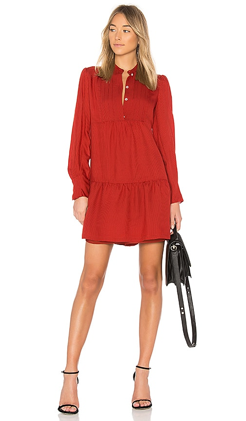 A.P.C. Jones Dress in Red