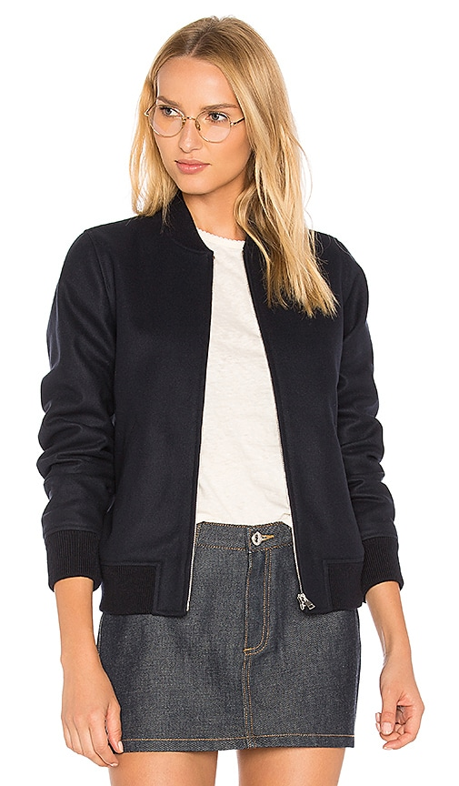 A.P.C. Norma Jacket in Navy