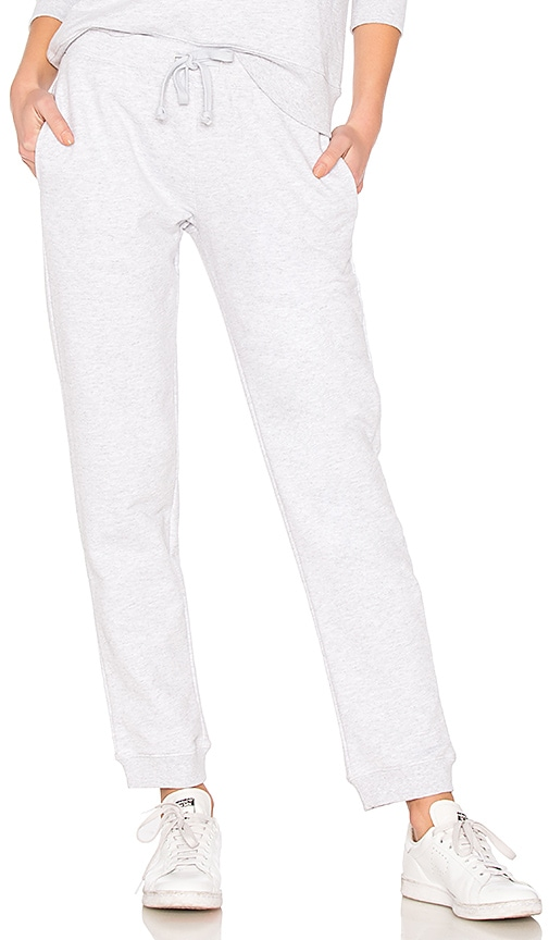 Cheer Cotton-Blend Terry Track Pants in Grey