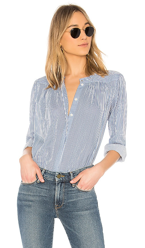A.P.C. Blouse Serena in Blue