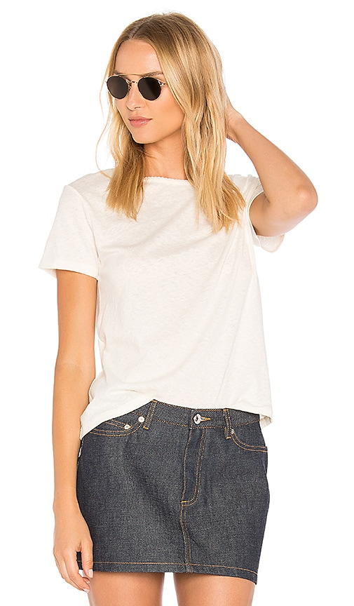 A.P.C. Lydia T-Shirt in Cream