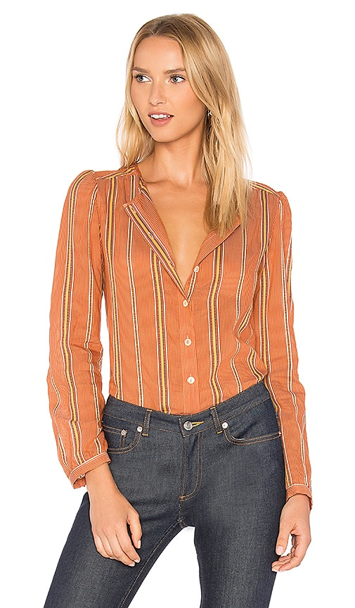 A.P.C. Lucie Blouse in Orange