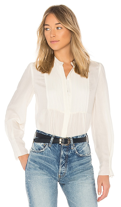 A.P.C. Carousel Top in Ivory