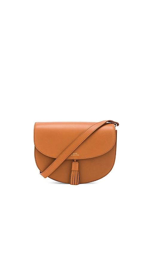 A.P.C. Diane Bag in Cognac