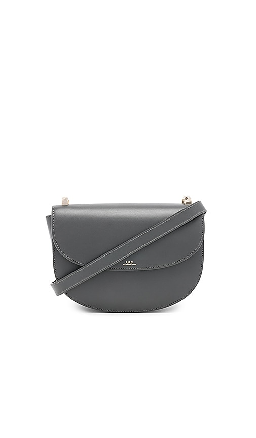 A.P.C. Geneve Bag in Charcoal