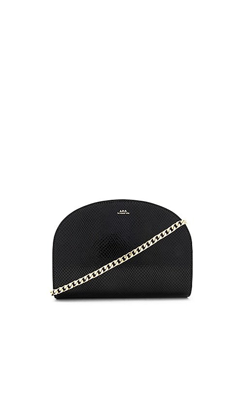 A.P.C. Luna Bag in Black