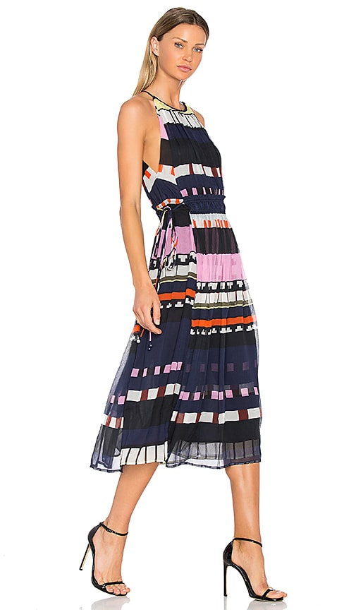 APIECE APART Lippard Dress in Navy