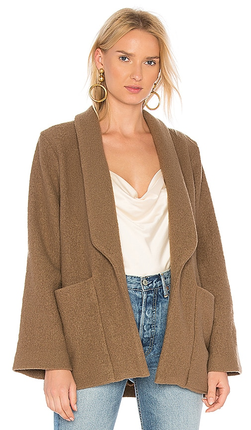 APIECE APART Big Sur Soft Blazer in Brown