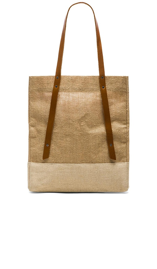 Apolis Wine Tote in Tan