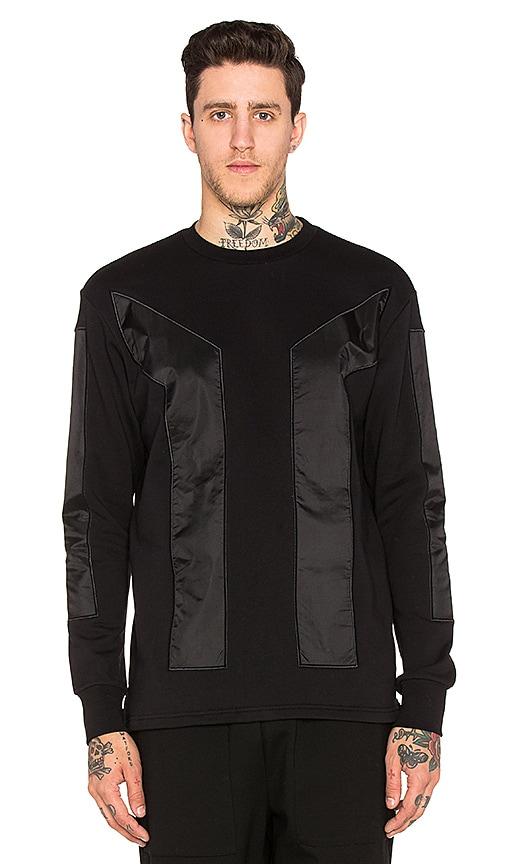 AQ/AQ App Sweatshirt in Black
