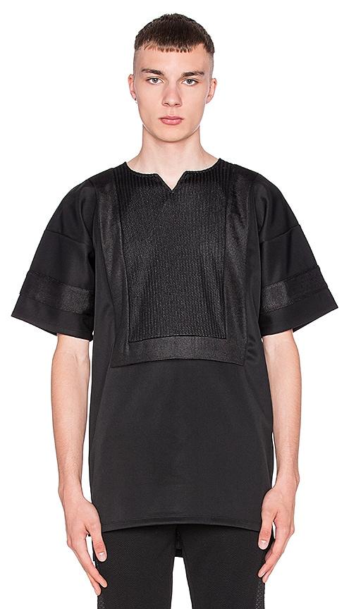 AQ/AQ vs CHEF LDN Dashiki T-Shirt in Black