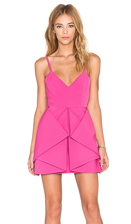 AQ/AQ Vipery Mini Dress in Pink