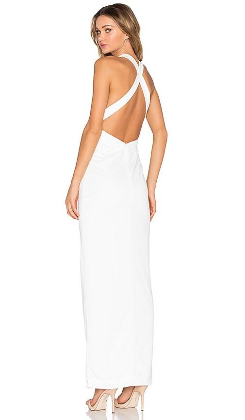 AQ/AQ Izzo Maxi Dress in Cream