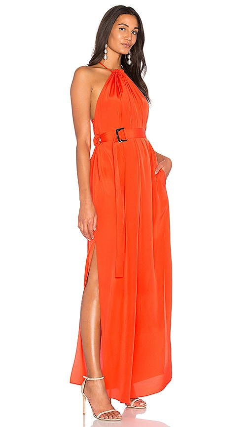 AQ/AQ Spencer Maxi Dress in Orange