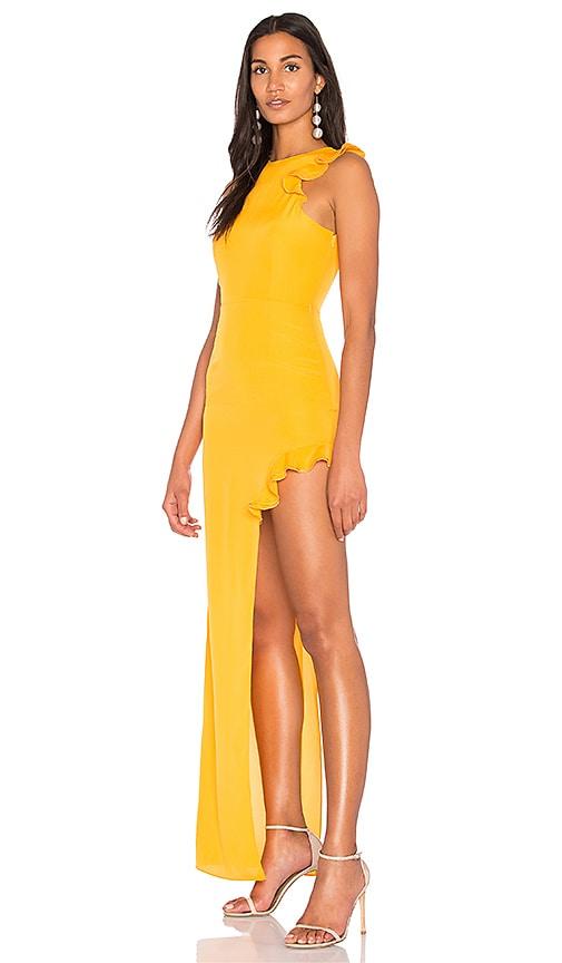 AQ/AQ Juan Dress in Yellow