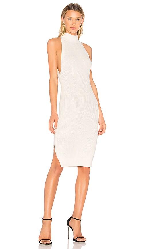 AQ/AQ Lazero Knit Dress in White