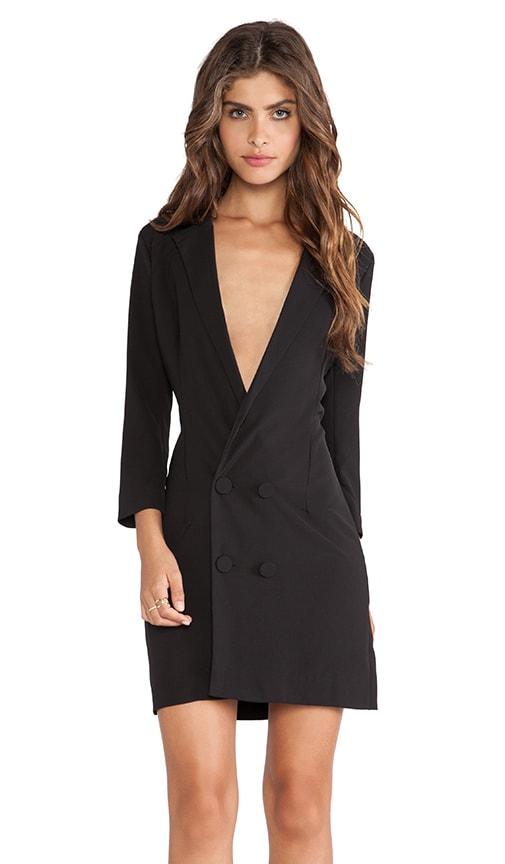 Genesis Long Line Tuxedo Dress