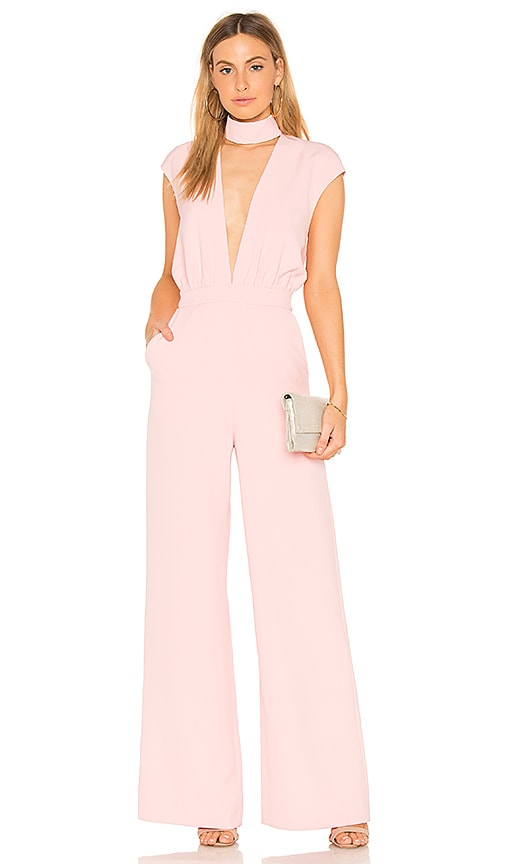 AQ/AQ Dakota Jumpsuit in Pink
