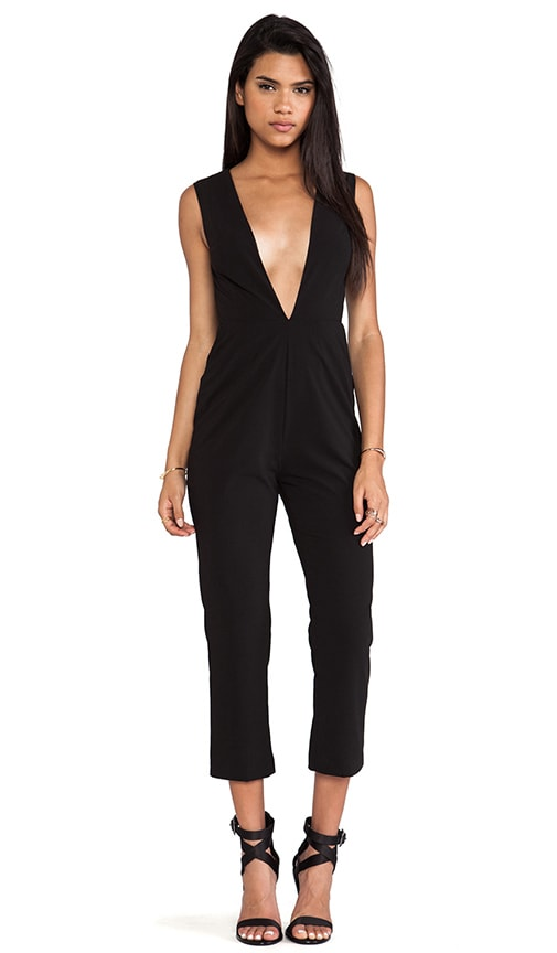 829b409f3e7 AQ AQ Lydia Jumpsuit in Black