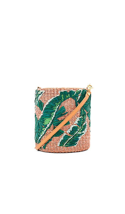 ARANAZ Nana Mini Bucket Bag in Green