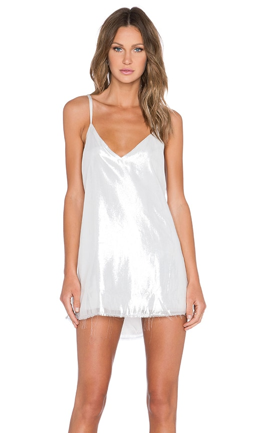 84793a00dc4a ARE YOU AM I Zillah Slip Dress in Silver. Previous Slide. Next Slide. Close  Modal. Zillah Slip Dress