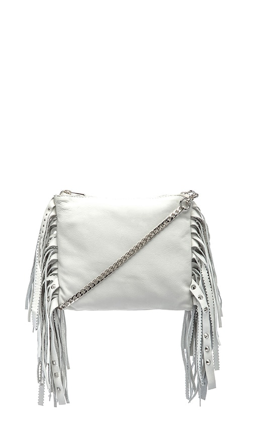 Ash Tyler Clutch in Off White