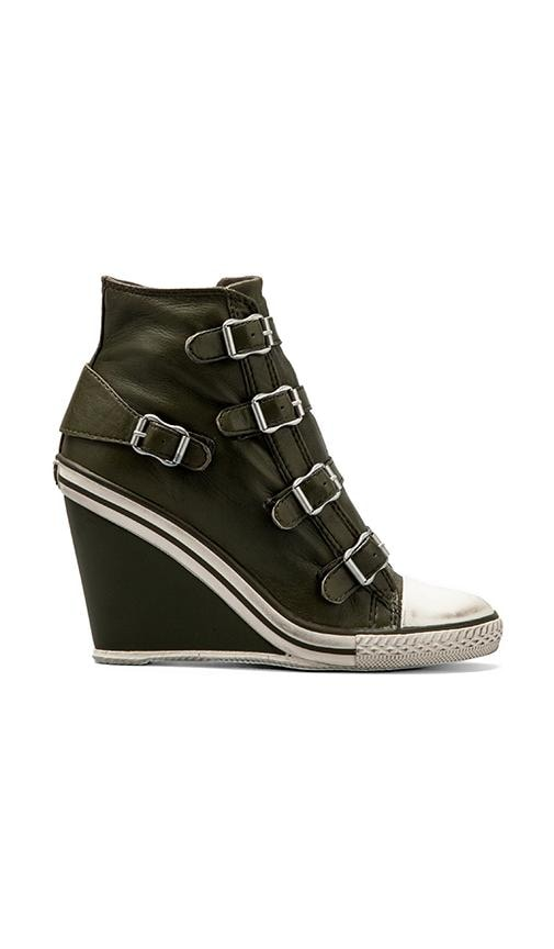 Thelma Wedge Buckle Sneaker