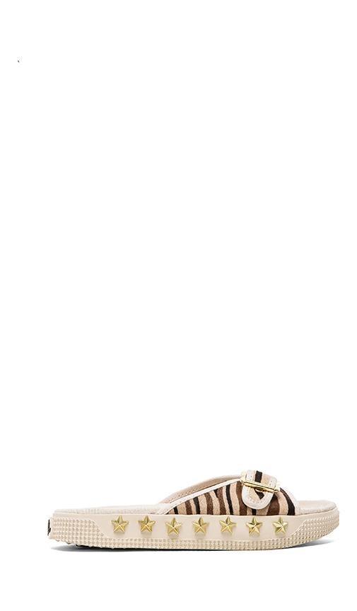 Kappa Sandal with Pony Fur