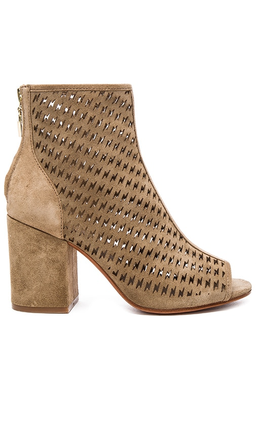 Ash Flash Bootie in Taupe
