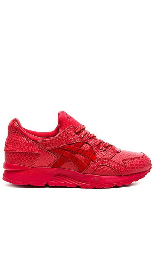 asics gel lyte v rouge. Black Bedroom Furniture Sets. Home Design Ideas