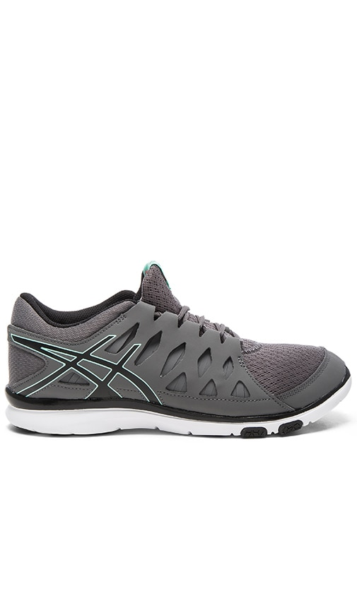 Asics Gel Fit Tempo Sneaker in Charcoal