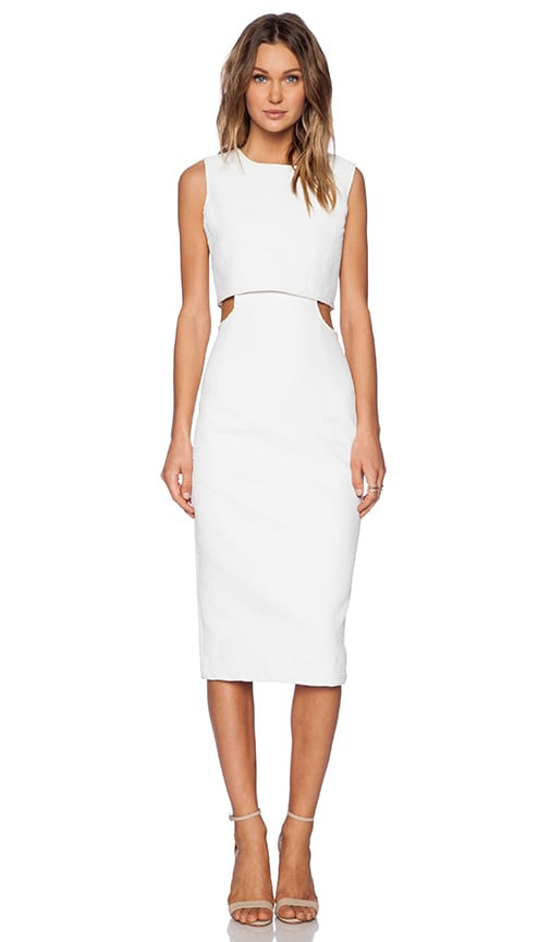 ASILIO Anything But Sober Dress in White