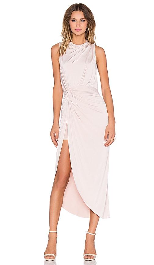 ASILIO Landslide Dress in Powder Pink